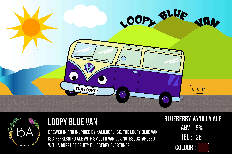 BA Loopy Blue Van Beer